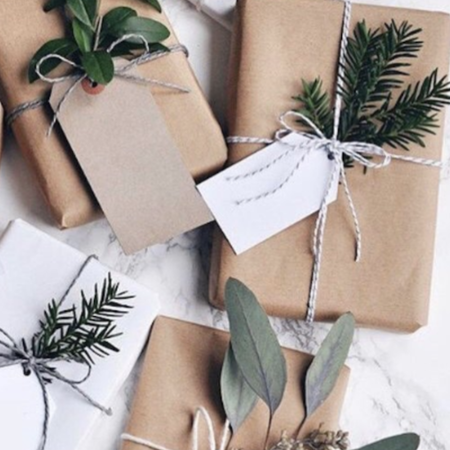 eco friendly gift wrap